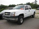 2003 Summit White Chevrolet Silverado 2500HD LS Extended Cab 4x4 #31256754