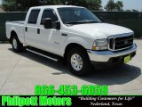 2004 Oxford White Ford F250 Super Duty XLT Crew Cab #31256766