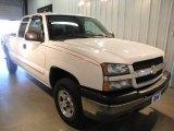 2004 Summit White Chevrolet Silverado 1500 LS Extended Cab 4x4 #31257067