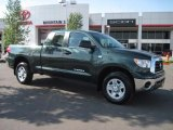 2008 Timberland Green Mica Toyota Tundra Double Cab 4x4 #31256308