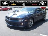 2010 Imperial Blue Metallic Chevrolet Camaro SS SLP ZL550 Supercharged Coupe #31257074