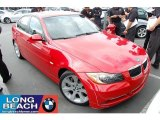2007 Crimson Red BMW 3 Series 335i Sedan #31256788