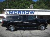 2002 Black Ford F250 Super Duty XLT SuperCab 4x4 #31256579