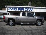 2007 Graystone Metallic Chevrolet Silverado 1500 LT Extended Cab 4x4 #31256582