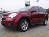 2010 Cardinal Red Metallic Chevrolet Equinox LT #31256801