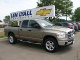 2007 Light Khaki Metallic Dodge Ram 1500 Big Horn Edition Quad Cab 4x4 #31256594