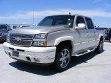 2006 Silver Birch Metallic Chevrolet Silverado 1500 LT Crew Cab 4x4 #31257118