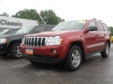 2006 Inferno Red Crystal Pearl Jeep Grand Cherokee Limited 4x4 #31257130