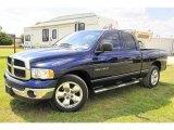 2004 Patriot Blue Pearl Dodge Ram 1500 SLT Quad Cab #31256829