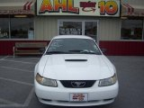 2000 Crystal White Ford Mustang GT Coupe #31256379