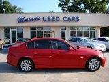 2007 Crimson Red BMW 3 Series 328i Sedan #31256872