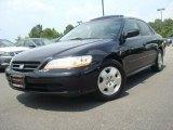 2002 Nighthawk Black Pearl Honda Accord EX V6 Sedan #31256618