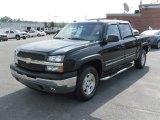 2005 Black Chevrolet Silverado 1500 Z71 Crew Cab 4x4 #31257185