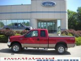 2002 Toreador Red Metallic Ford F250 Super Duty Lariat SuperCab 4x4 #31256448