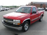 1999 Victory Red Chevrolet Silverado 1500 LS Regular Cab #31257187