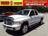 2005 Bright White Dodge Ram 1500 Laramie Quad Cab 4x4 #31257199