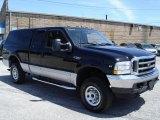 2002 Black Ford F250 Super Duty XLT SuperCab 4x4 #31256975