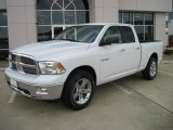 2010 Stone White Dodge Ram 1500 Lone Star Quad Cab #31256993