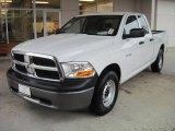 2010 Stone White Dodge Ram 1500 ST Quad Cab #31256995