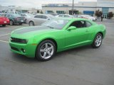 2010 Synergy Green Metallic Chevrolet Camaro LT Coupe Synergy Special Edition #31257012