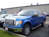 2010 Blue Flame Metallic Ford F150 XLT SuperCab 4x4 #31331756
