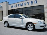 2008 White Suede Ford Fusion SE #31332221