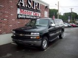 2002 Forest Green Metallic Chevrolet Silverado 1500 LS Extended Cab 4x4 #31332226