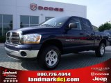 2006 Patriot Blue Pearl Dodge Ram 1500 SLT Quad Cab 4x4 #31331805