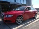 2008 Brilliant Red Audi A4 2.0T quattro Sedan #31331851