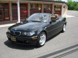 2006 Jet Black BMW 3 Series 330i Convertible #31332328
