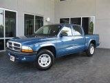 2004 Atlantic Blue Pearl Dodge Dakota SXT Quad Cab #31331667
