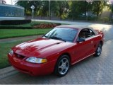 1994 Rio Red Ford Mustang Cobra Convertible #31332167