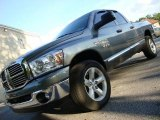 2008 Mineral Gray Metallic Dodge Ram 1500 Big Horn Edition Quad Cab 4x4 #31332376