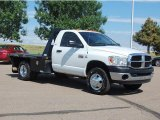 2007 Bright White Dodge Ram 3500 SLT Regular Cab 4x4 Chassis #31331975