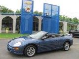 2003 Flash Blue Pearl Mitsubishi Eclipse Spyder GTS #31331736