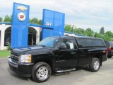 2008 Black Chevrolet Silverado 1500 LT Regular Cab 4x4 #31331738