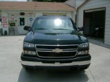 2006 Dark Green Metallic Chevrolet Silverado 1500 Work Truck Regular Cab #31391966