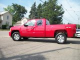 2010 Victory Red Chevrolet Silverado 1500 LT Extended Cab 4x4 #31391854