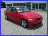 2007 Crimson Red BMW 3 Series 328i Sedan #31391977