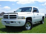 1999 Bright White Dodge Ram 1500 Sport Extended Cab 4x4 #31391797