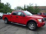 2010 Vermillion Red Ford F150 FX4 SuperCrew 4x4 #31391917