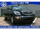 2008 Carbon Black Metallic Buick Enclave CXL #31392230