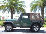 1999 Jeep Wrangler Medium Fern Green Pearlcoat
