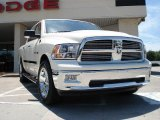 2010 Stone White Dodge Ram 1500 Big Horn Crew Cab #31392112