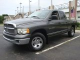 2002 Graphite Metallic Dodge Ram 1500 SLT Quad Cab 4x4 #31420020