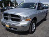2009 Bright Silver Metallic Dodge Ram 1500 SLT Quad Cab 4x4 #31419850