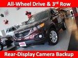 2011 Dark Cherry Kia Sorento LX V6 AWD #31426137