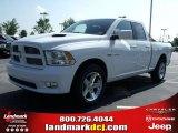 2010 Stone White Dodge Ram 1500 Sport Quad Cab #31426150