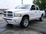 2005 Bright White Dodge Ram 1500 Sport Quad Cab 4x4 #31425991