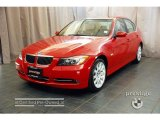 2007 Crimson Red BMW 3 Series 335xi Sedan #31426010
